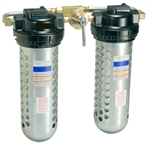 "1/4"" NPT, 10  SCFM, 1.5 qts.*, In Line Air Desiccant Dryer (Twin Unit)"